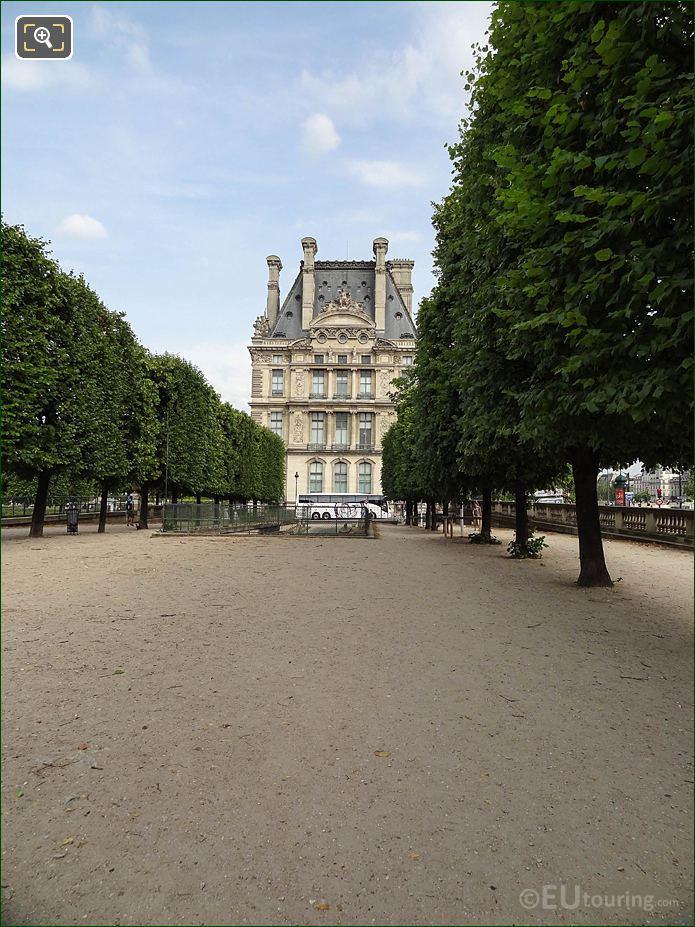 Terrasse Du Bord De l'Eau In Jardin Des Tuileries Looking South East