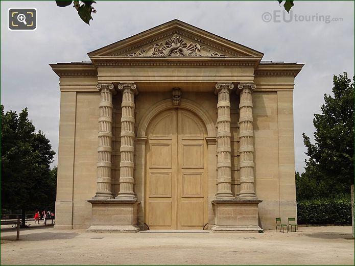 Musee l'Orangerie Jardin Des Tuileries Looking NW