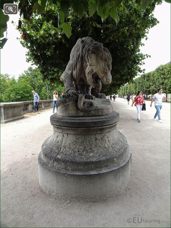 Terrasse Du Bord De l'Eau In Jardin Tuileries Looking NW
