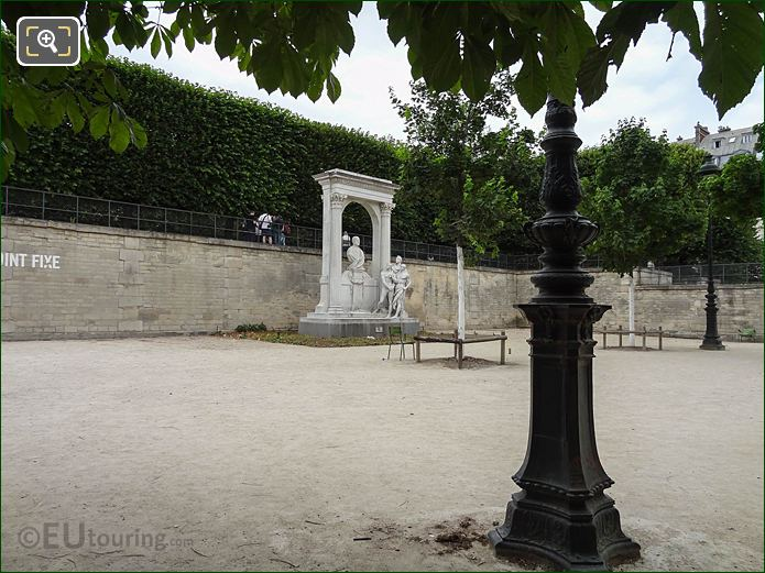 Allee Des Feuillants Jardin Des Tuileries Looking NW