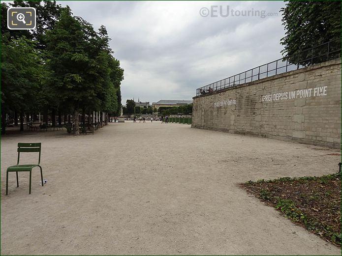 NW Alleyway Jardin Des Tuileries Looking SW