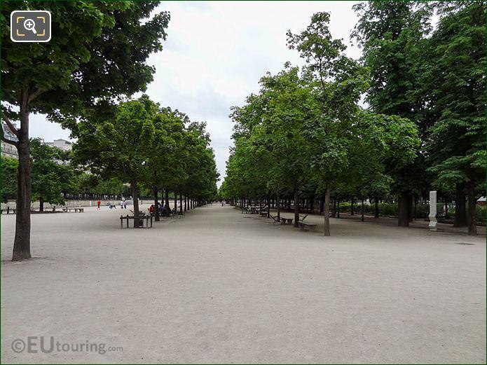 Allee Des Feuillants Jardin Des Tuileries Looking SE