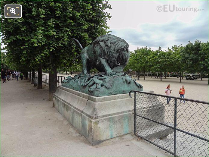 Terrasse Des Feuillants Jardin Des Tuileries Looking SE