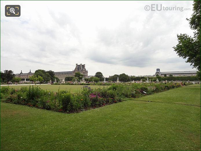 Carre De Fer Nord Jardin Des Tuileries Looking SE