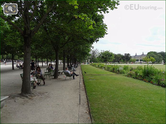 Allee Des Feuillants Jardin Des Tuileries SE