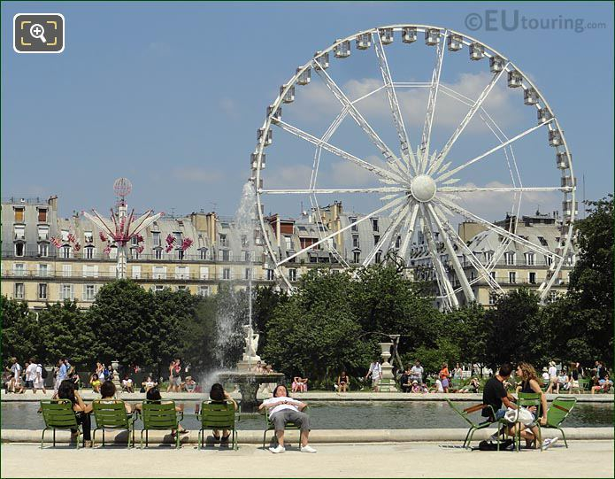 Tuileries Gardens Ferris Wheel