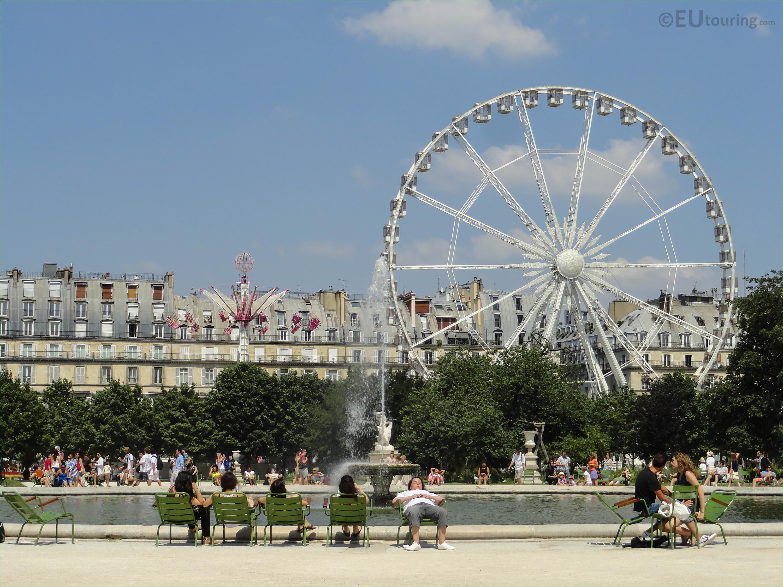 tuileries gardens ferris wheel - Tuileries Garden