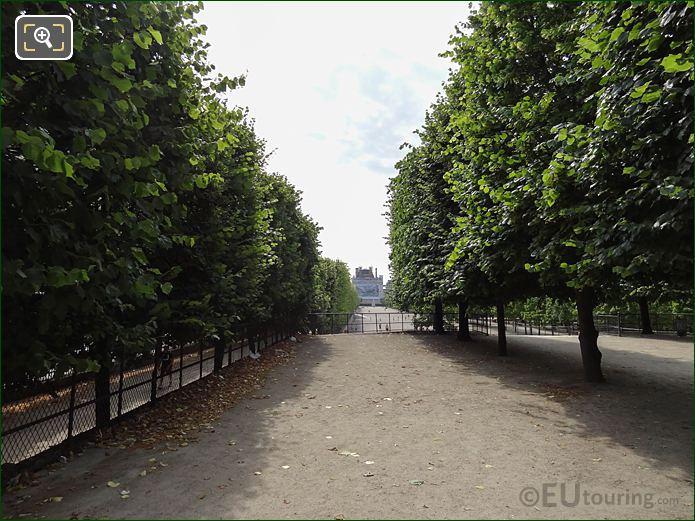 Terrasse Du Jeu De Paume Jardin Des Tuileries Looking SE