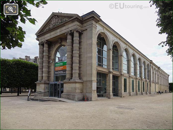 Jeu De Paume Building Terrasse Du Jeu De Paume Tuileries Gardens