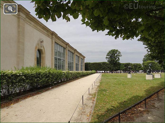 North Facade Musee De l'Orangerie Looking NW