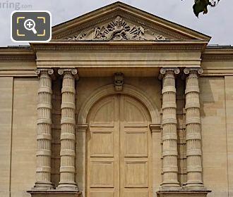East Facade Of Musee De l'Orangerie