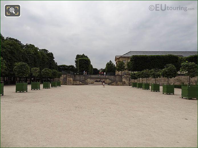 Walkway, Stairs Terrasse Du Bord De l'Eau Jardin Des Tuileries SW