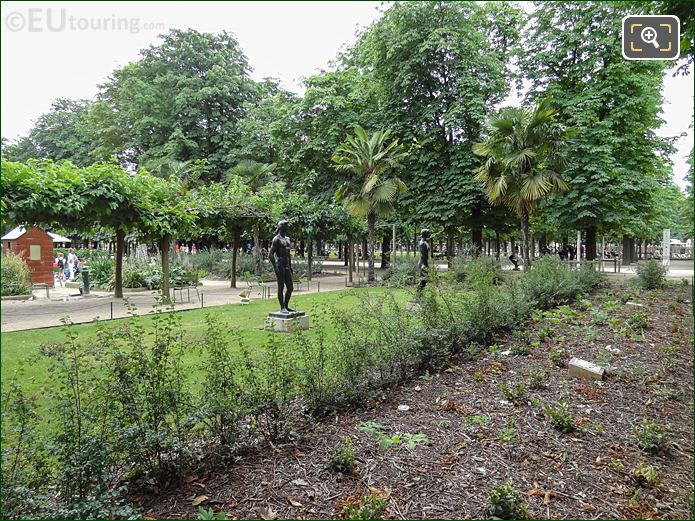 Trampoline Garden Jardin Des Tuileries Looking South