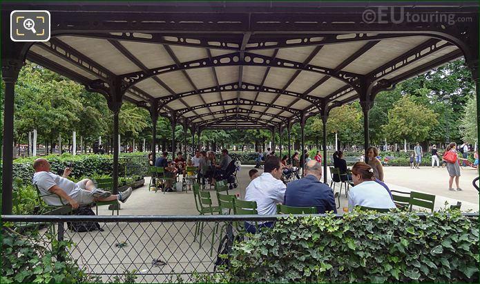Childrens Playground Gazebo Jardin Des Tuileries Looking SW