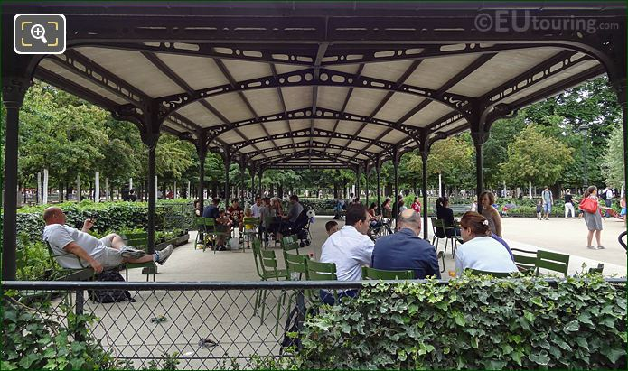 Pergola Shelter Childrens Playground Tuileries Gardens