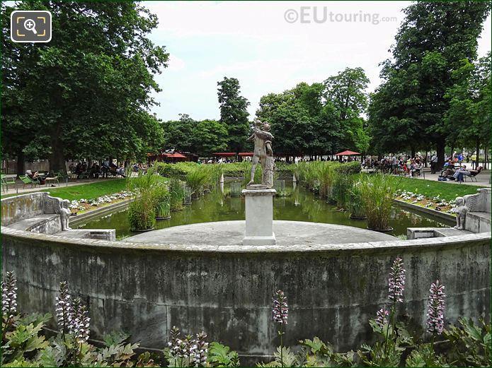 Exedre Nord Jardin Des Tuileries Looking SE
