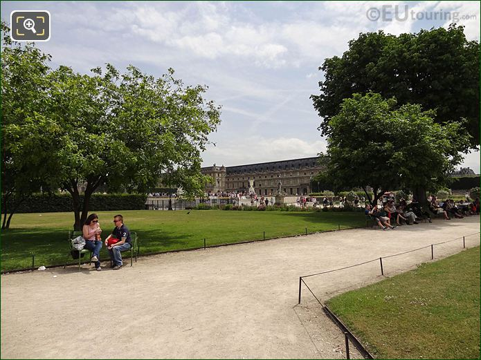 Grand Reserve Nord Jardin Des Tuileries Looking SE
