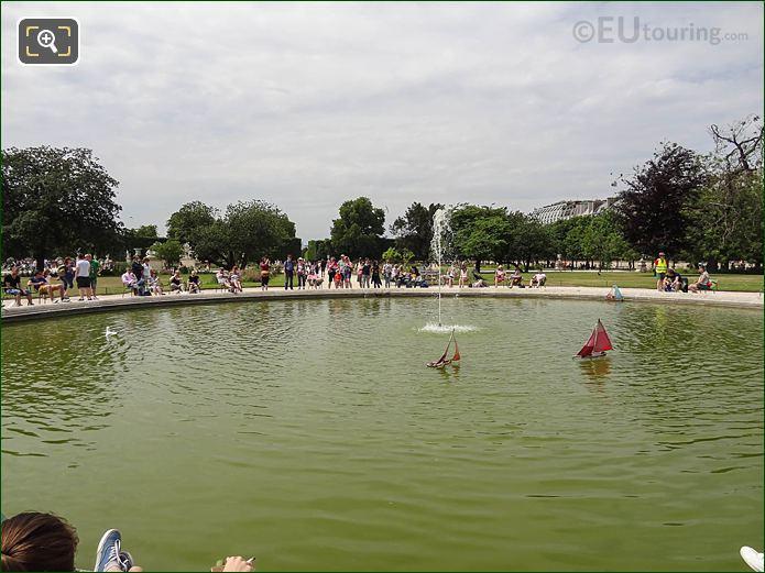 Vivier Nord Jardin Des Tuileries Looking NW