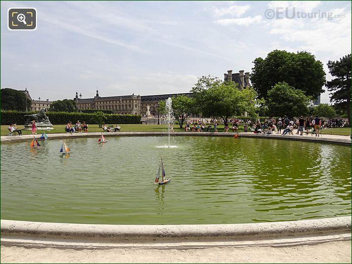 Vivier Nord Jardin Des Tuileries Looking SE