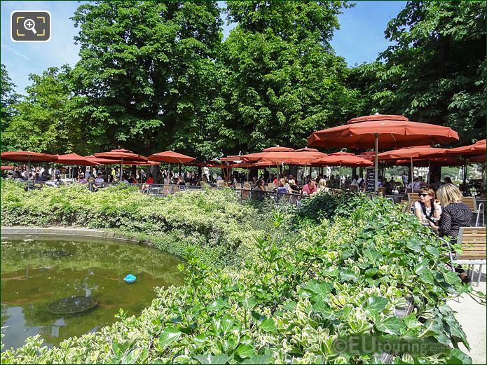 Exedre Sud Restaurant Jardin Des Tuileries Looking NE