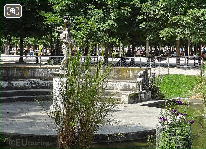 Exedra Within Exedre Sud Water Feature Tuileries Gardens