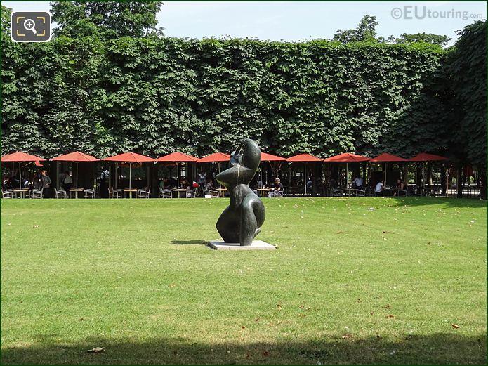Salle Verte Sud-ouest Jardin Des Tuileries Looking SE