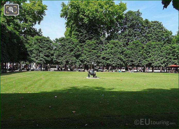 Salle Verte Sud-Ouest Inside Jardin Des Tuileries Looking North, North East