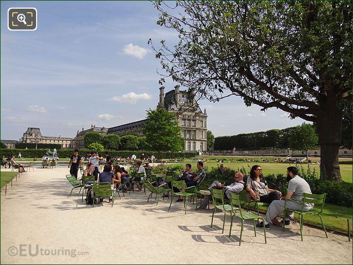 Petit Reserve Sud Jardin Des Tuileries Looking SE