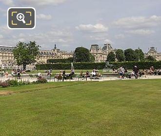 Vivier Sud Viewed From Petit Reserve Sub Jardin Tuileries