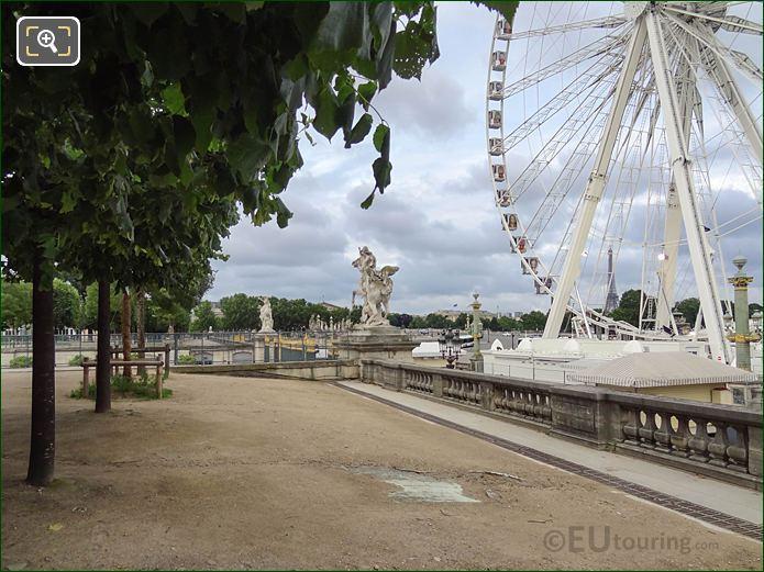 Terrasse Du Jeu De Paume Jardin Des Tuileries Looking SW