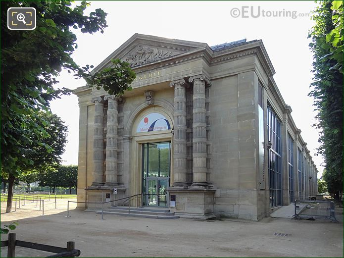 Musee De l'Orangerie In Jardin Des Tuileries