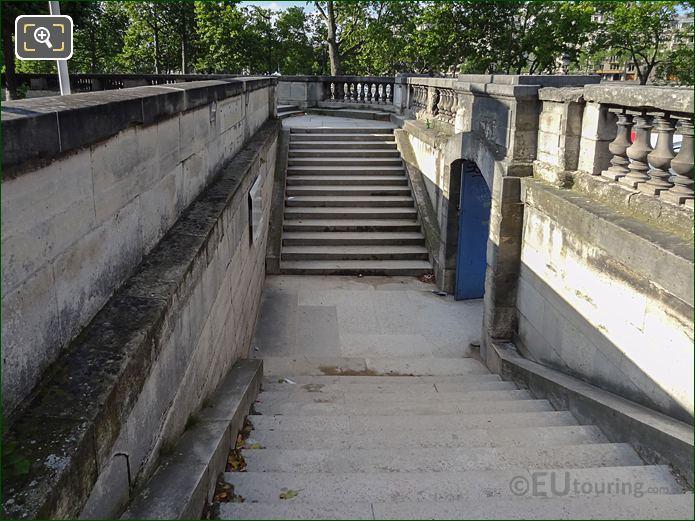 South West Entrance Stone Steps For Jardin des Tuileries
