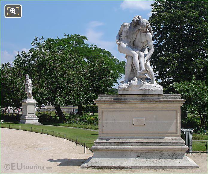 Le Bon Samaritain Tuileries Gardens