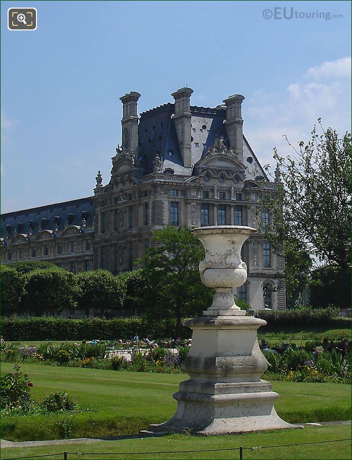 Demi-lune Reserve Sud Jardin Tuileries Looking SE