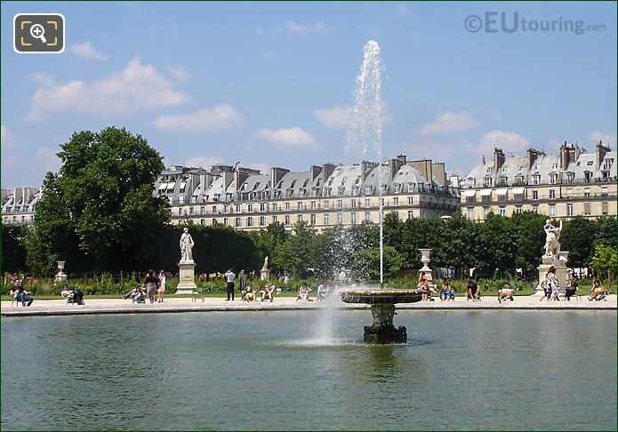 Tuileries East Central Water Basin