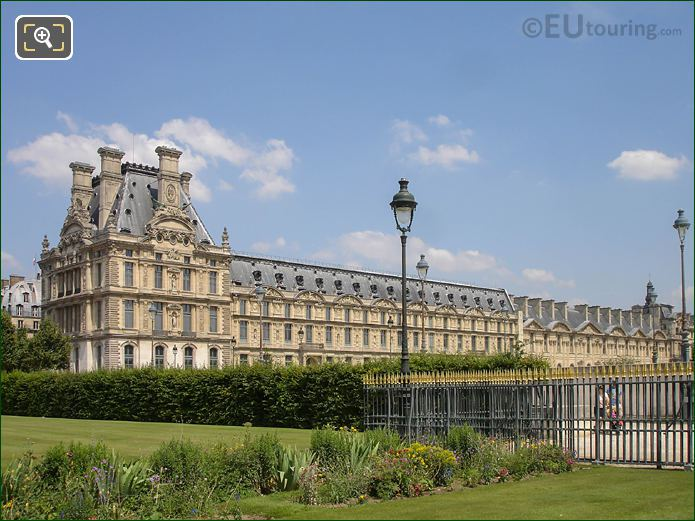 Grille Lemonnier Area Jardin Des Tuileries Looking NE