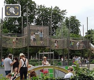 Equipment Childrens Adventure Playground Jardin Des Tuileries