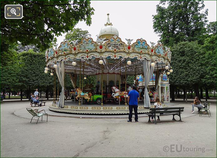 Childrens Carousel Tuileries Gardens