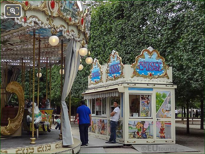 Payment Both Jardin Des Tuileries Merry-go-round