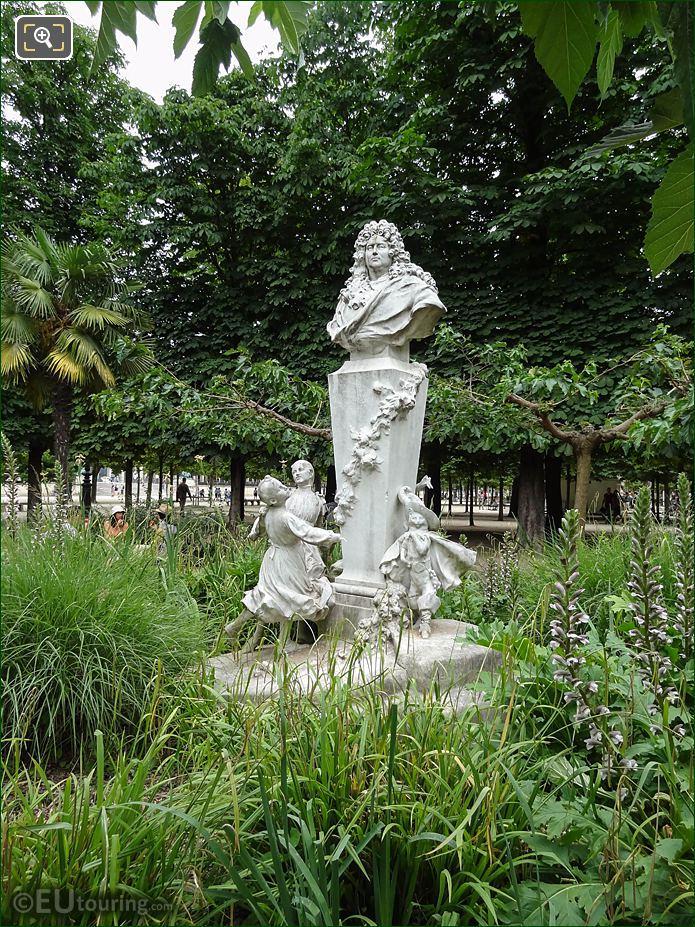 Grand Couvert In Jardin Des Tuileries Looking NE