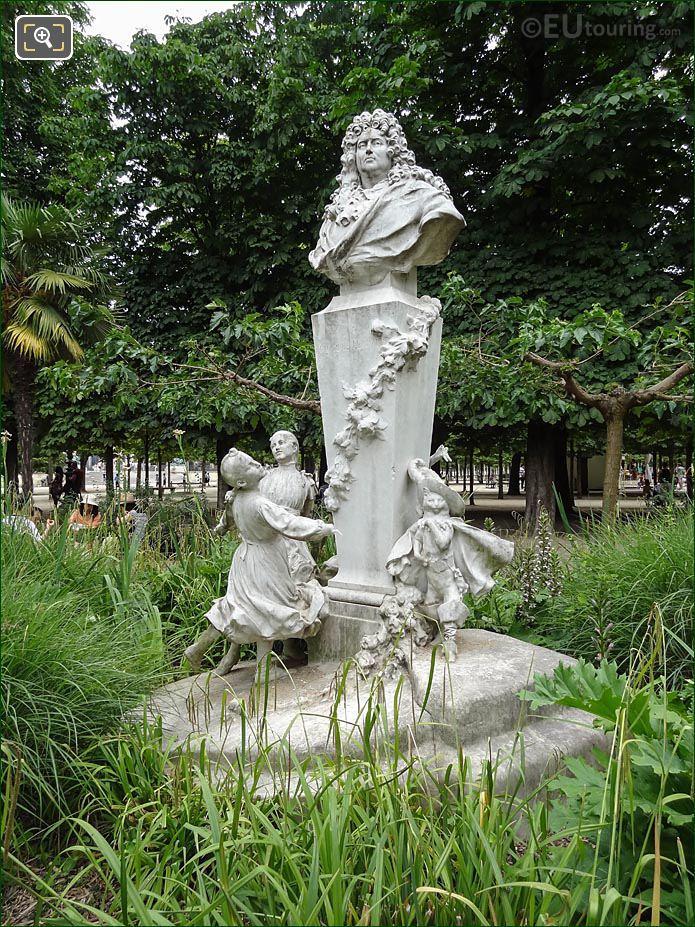 Charles Perrault Monument Tuileries