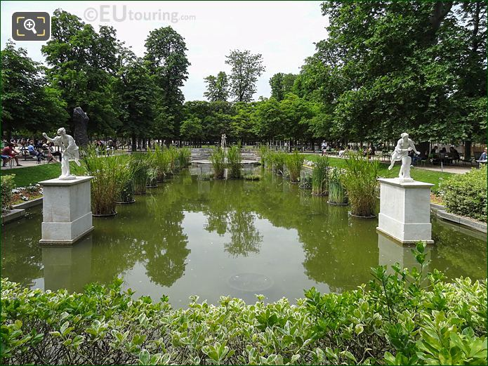 Exedre Nord Jardin Des Tuileries Looking NW