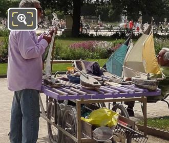 Model Sailing Boats Vendor Jardin Des Tuileries