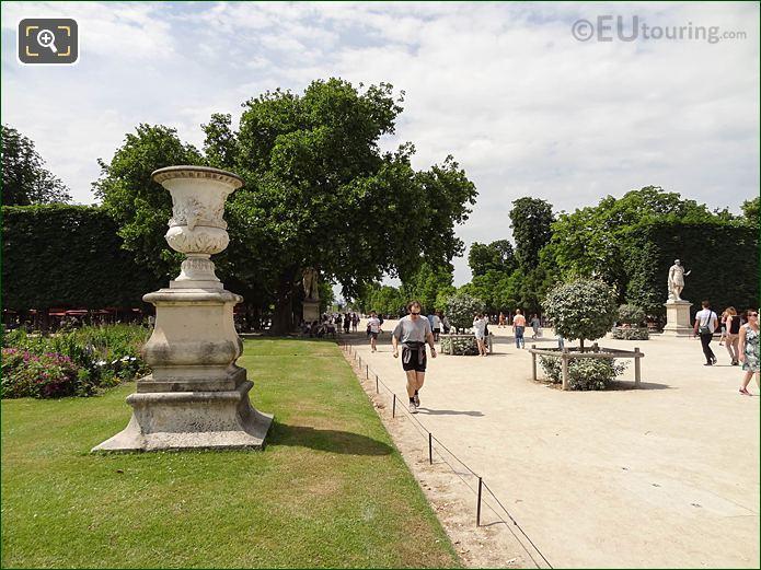 Allee Centrale Pathway Jardin Des Tuileries