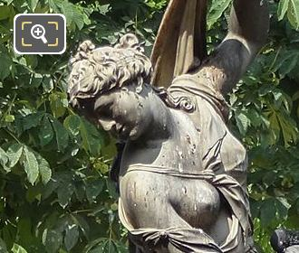 Venus Callipyge Statue Exedre Sud Looking North