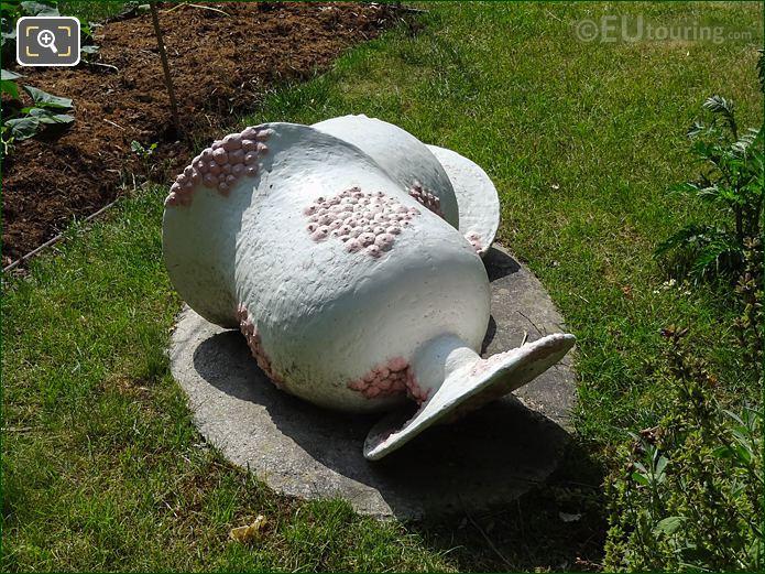 Polychrome Bronze Sculpture In Tuileries Vegetable Garden