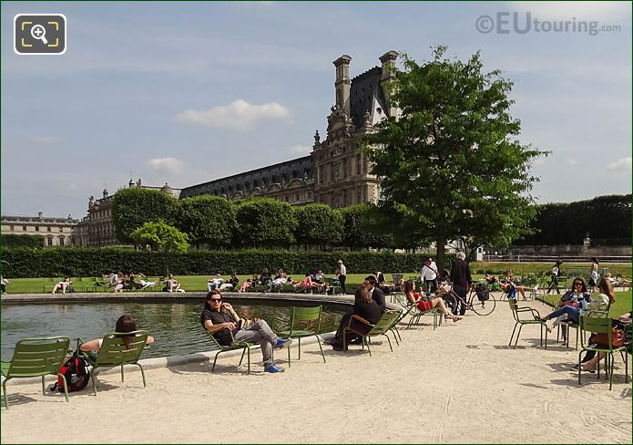 Gravel Path Vivier Sud Jardin Des Tuileries