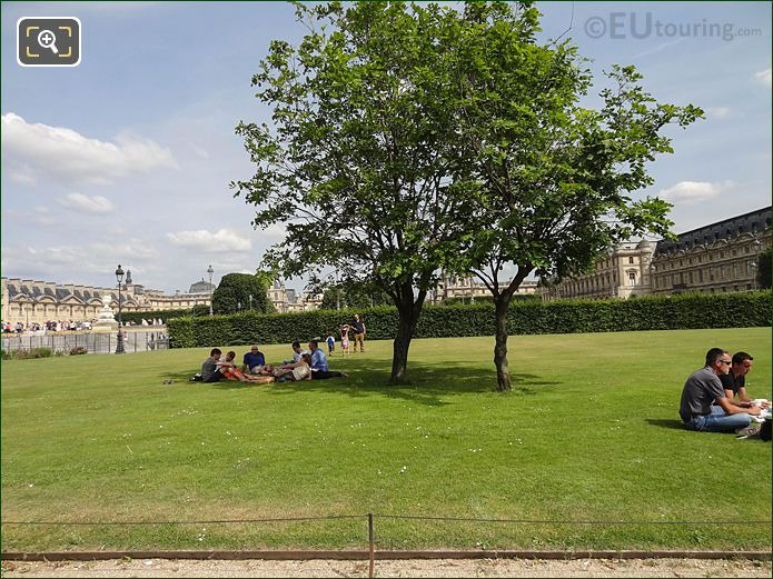 Grand Reserve Sud Jardin Des Tuileries Looking SE
