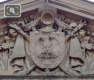 Pediment Sculpture Entrance Jeu De Paume