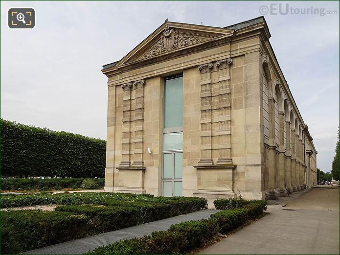 East Facade Jeu De Paume In Jardin Des Tuileries